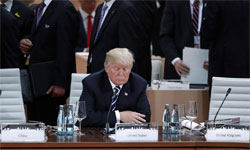 The Donald alone at G20